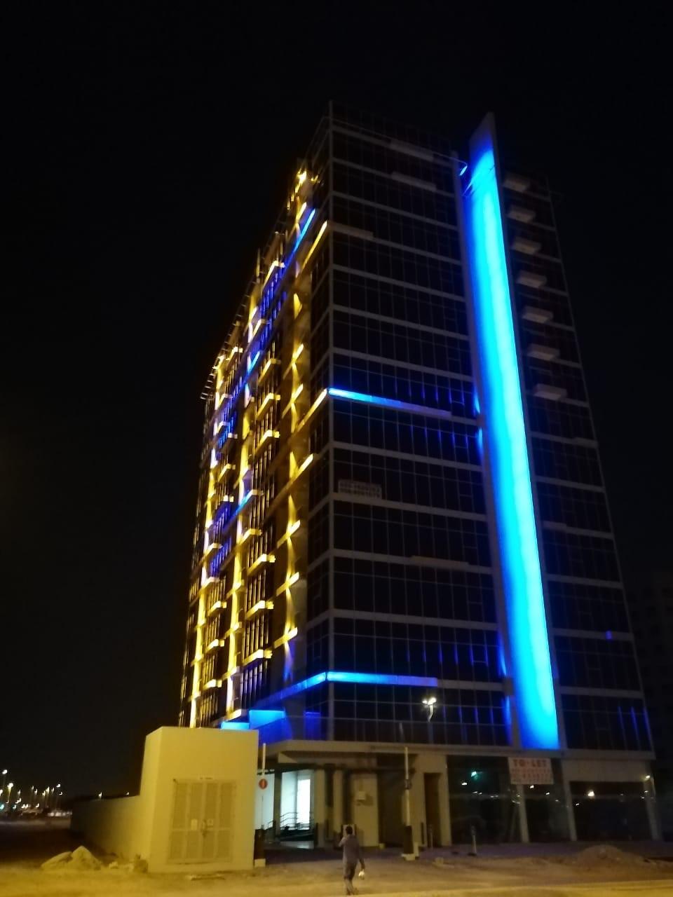 c 2B+G+13 TYP+ROOF HOTEL APARTMENT WADI AL SAFA