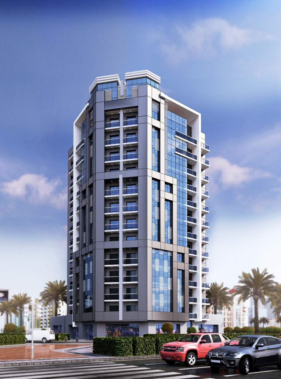 c 3B+G+12+TYP+ROOF RESIDENTIAL & COMMERCIAL BUILDING AL BASRHA 1ST