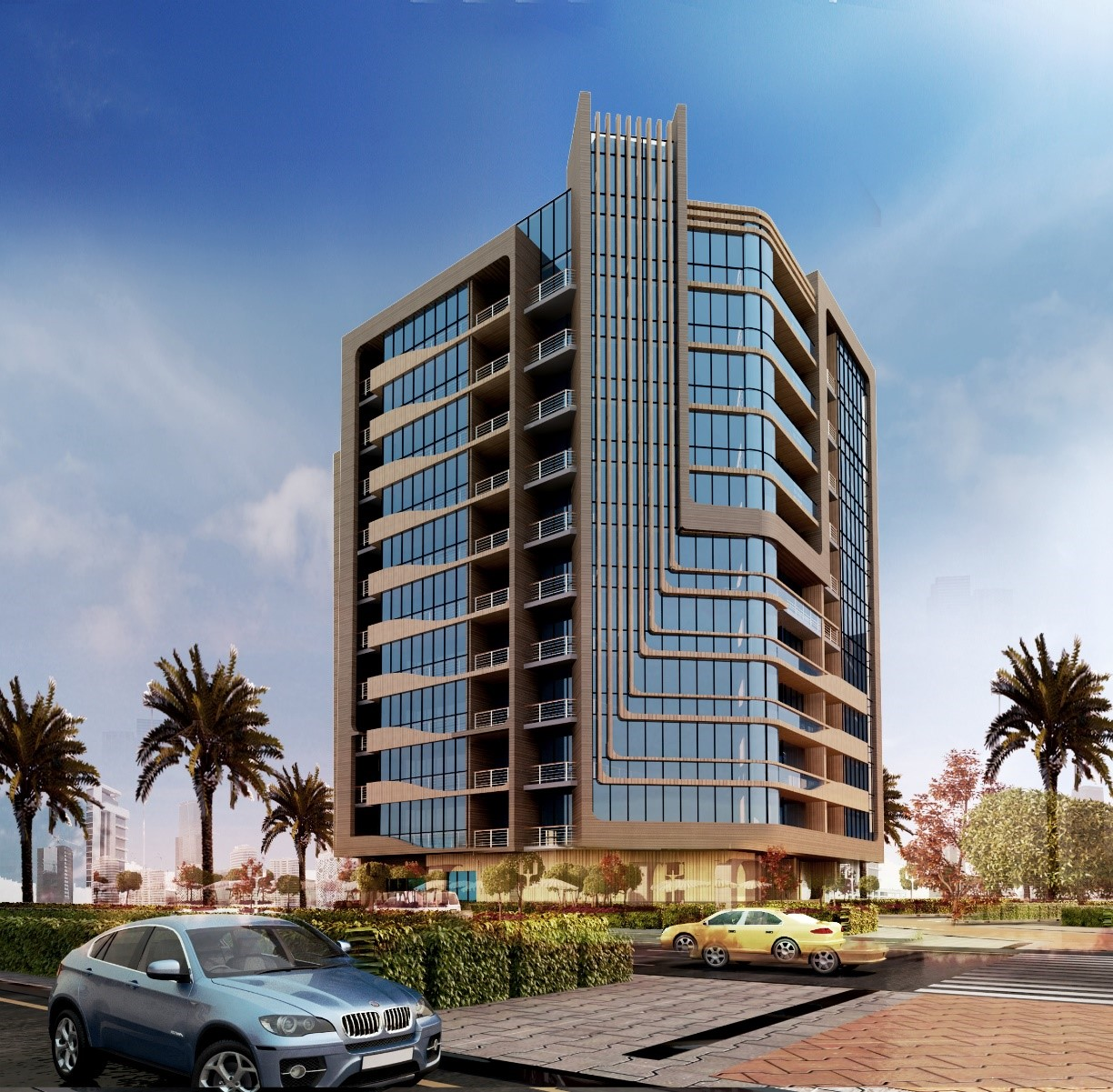 c B + G + 10 Typical Floor + R Residential Building Nadd Al Hamar, Dubai-UAE