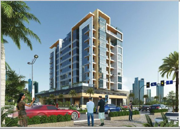 o DB-81-14-20-(B+G+P+8+R) Commercial and Residential Building Al Satwa Duba-UAE