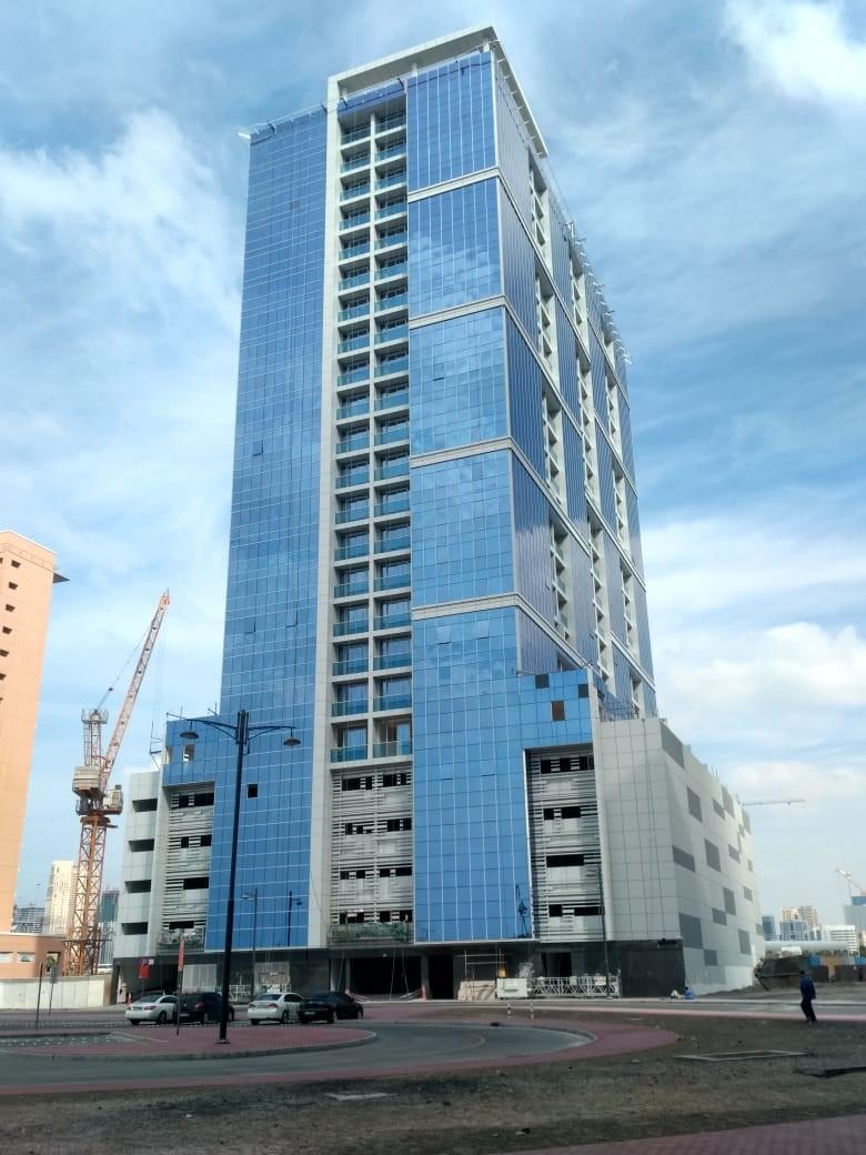 c G + 4P + Gym + 19 Typical + Roof-Residential Building Al Mamzar, Dubai-UAE